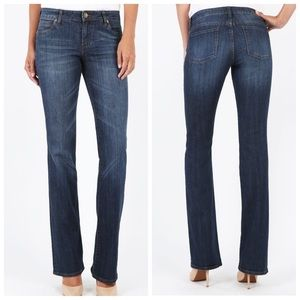 NWOT KUT from the Kloth Natalie Bootcut Blue Jeans